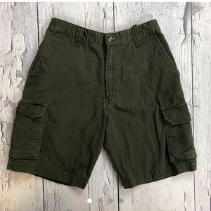 Vintage Tommy Hilfiger Cargo shorts 16 Dark green